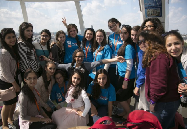 CTeen Doubles its Numbers at Europe Shabbaton