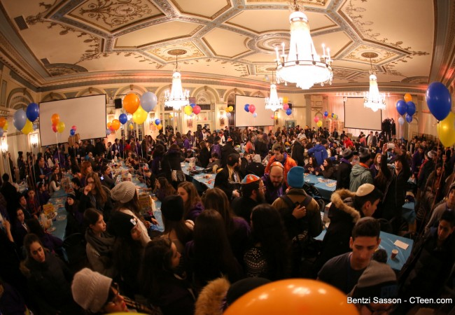 1500 Participants at the CTeen Shabbaton