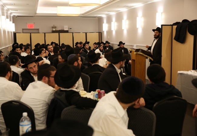 MyShliach's Chavrusah Program Hosts Opening Event