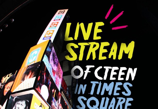 LIVE CTeen Concert at Times Square