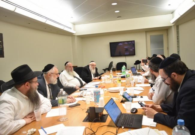 Kinus Hashluchim 5777: Executive Vaad Meets