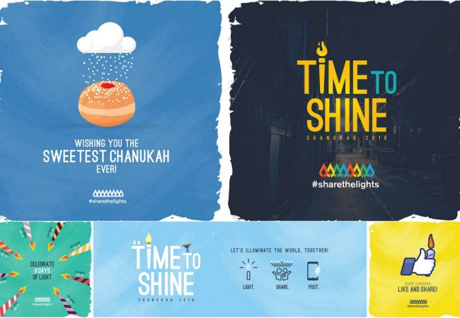 Global Mitzva Chanuka – #Sharethelights