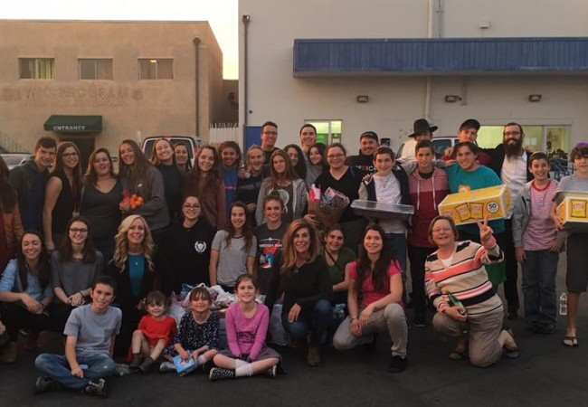 Southern California CTeen's chapters Freehab Trip