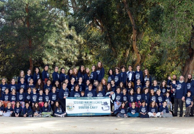 Tzeirei HaShluchos West Coast Winter Girls Camp an Amazing Success