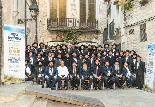 50 Shluchim from 26 Countries Convene