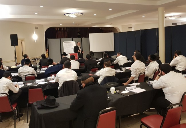 30 New Shluchim Join for a 6 days Seminar