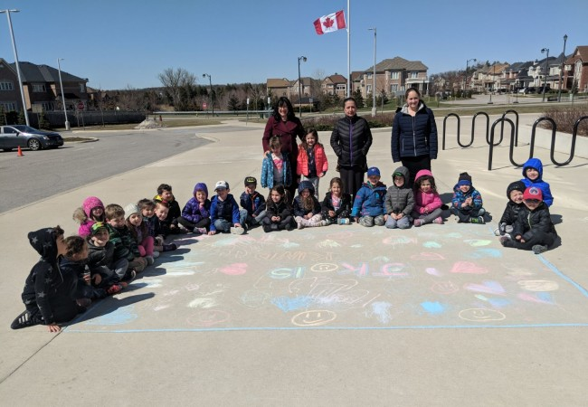 Chalking Kindness in wake of tragedy