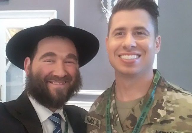 JNet and Aleph Partner to Bring Torah to the Military