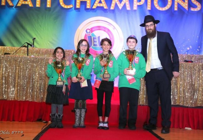 Winners of the JewQ International Torah Championship
