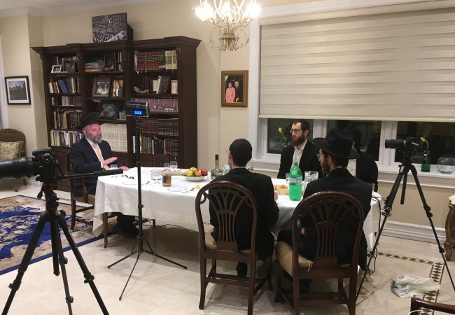 Virtual Farbrengen for Chabad House Communities