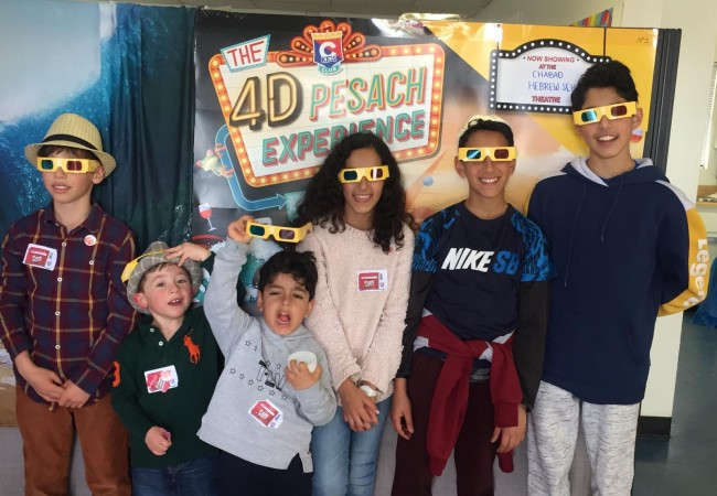 Thousands of children participate in the CKids 4D Pesach Experience