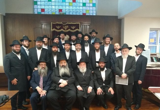 Shluchim get Rabbanut Certification