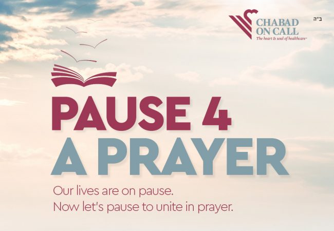 This Sunday: #Pause4Prayer event for communities worldwide