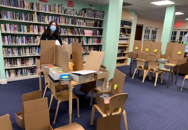 Yaldei HaShluchim Book Library Continues Amid Covid-19