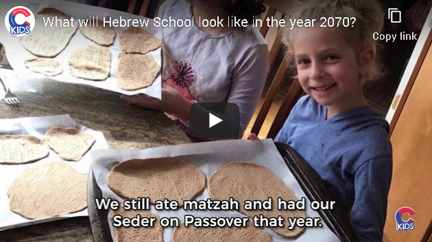 What will Chabad Hebrew School Look like in the year 2070?  [Video]