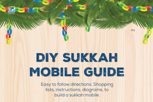 Bring the Sukkah to them: DIY Sukkah Mobile