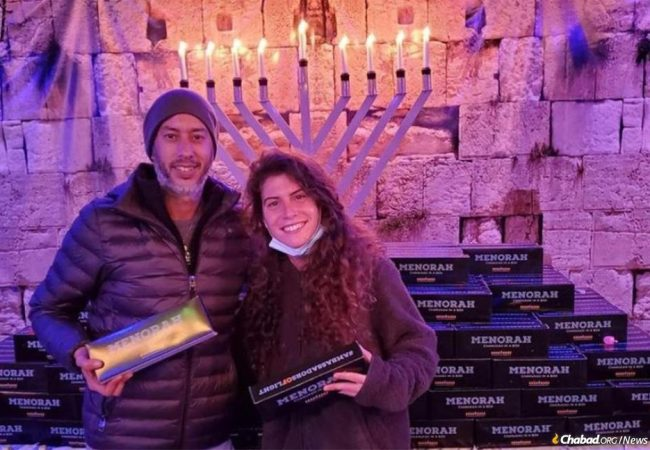 Young 'Ambassadors of Light' Deliver Hanukkah Around the World