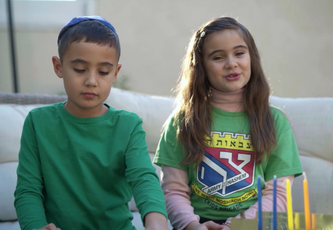 Empowering Jewish Children to be like the Maccabees
