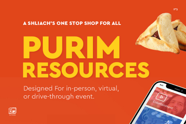 Purim One Stop Shop – Virtual or In-Person