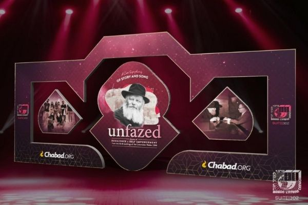 'Unfazed' to Highlight the Rebbe's Message of Resilience