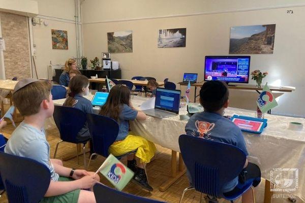 "Jewish Children Worldwide Unite with Interactive & Innovative ""JewQ Watch Parties"""