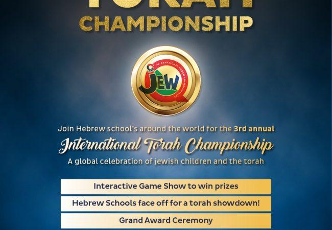 LIVE: JEWQ INTERNATIONAL TORAH CHAMPIONSHIPS